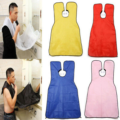 Beard Hair Collector Catcher Trimmer Shave Apron Men Cloth Bathroom Protection