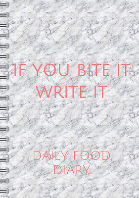 90 day Daily Food Diary 3 month Food Diary,Track meals & water calories,carbs