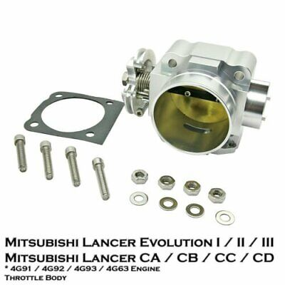 [1 Pcs] 70mm Aluminum Throttle Body For Lancer EVO 1 2 3 CD9A CE9A 2.0L 4G63 ENG