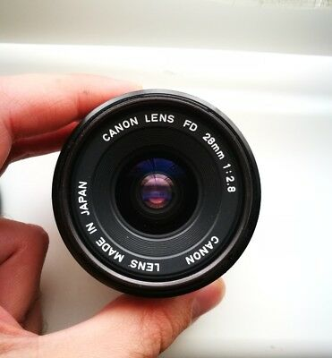 Canon FD 28mm f2.8 Excellent condition