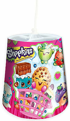 Shopkins Plastic Tapered Lamp Light Shade