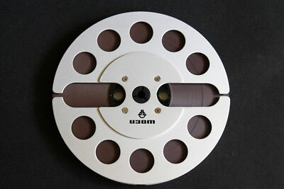 Rare Vintage Metal 7inch 18cm Take Up Reel with AGFA PER528 Tape