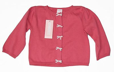 GYMBOREE NEW Children's Cardigan Top Size 18 - 24 mos. Pink Button Down Sweater