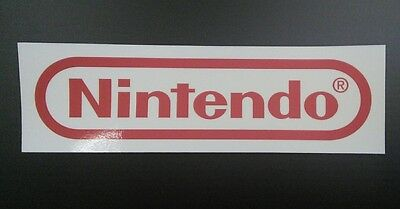 Nintendo Logo Sticker Decal