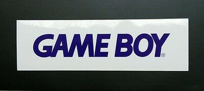Gameboy Logo Sticker Decal