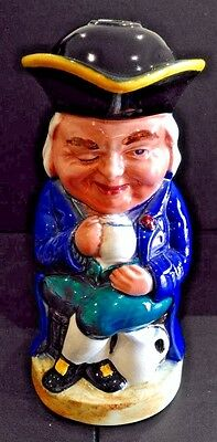 Traditional Style Winking Toby Jug with Hole in Hat and at Rear, Lamp Base?