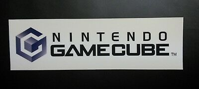 Nintendo GameCube Logo Sticker Decal