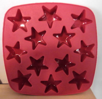 AUS SELLER -  christmas...STAR SHAPED CHOCOLATE/SOAP SILICONE MOULD   new