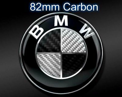 2pcs motorhaube emblem bmw 82mm 82mm heckklappe echter. Black Bedroom Furniture Sets. Home Design Ideas