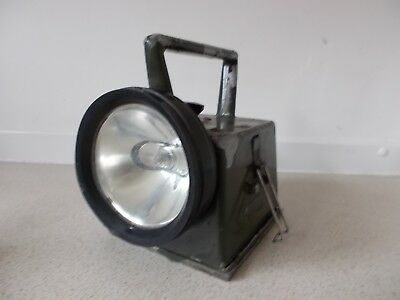 Bardic British Army Issue Signal Lamp Crows Foot Marked