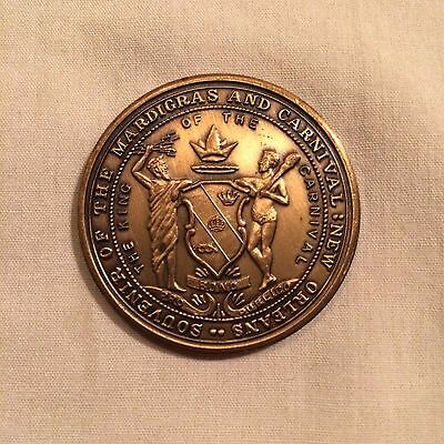 1984 Rex World's Expo 100 year Commemorative Antique Bronze Doubloon
