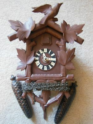 Vintage Black Forest Cuckoo Clock 8 Day