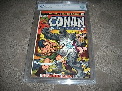 Conan  # 36  CBCS  CGC 9.6 off-white pages