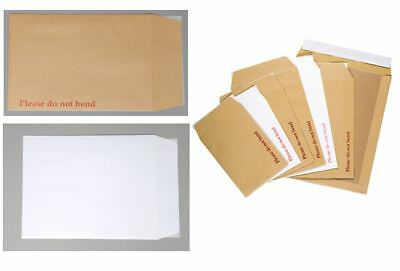 Board Backed Envelope - Choose Size/Colour/Qty