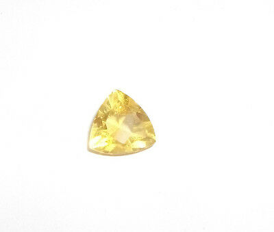 Genuine Gemstone Citrine Trilliant