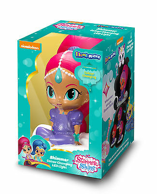 Shimmer and Shine Colour Changing Illumi-mate Night light Shimmer