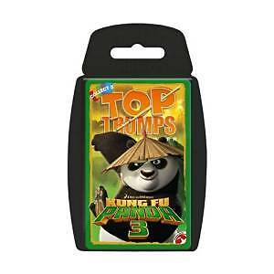 Top Trumps Kung Fu Pands 3 Card Game