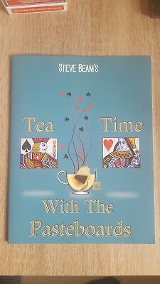 Steve Beam Tea Time With The Pasteboards UK Lecture Notes Card Magic