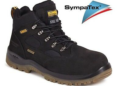 Dewalt Men's Challenger 3 Waterpoof Steel Toe Safety Boots Black