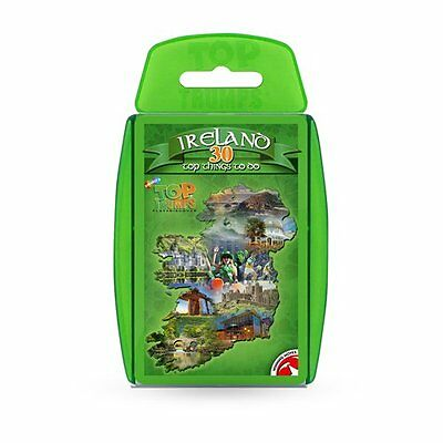 Top Trumps Ireland 30 Things To Do Card Game