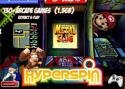 Hyperspin Frontend (1.5Gb)  **extract & Play**