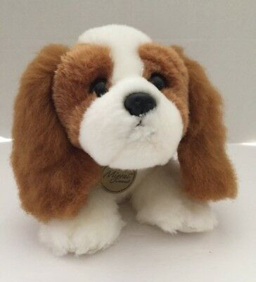 AURORA MIYONI Stuffed Plush Toy CAVALIER KING CHARLES SPANIEL Puppy Dog 11""