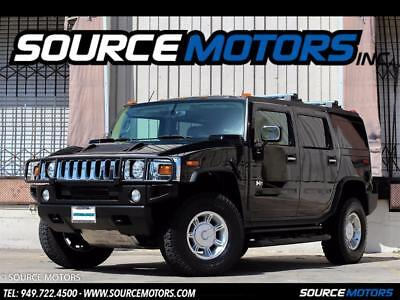 2003 Hummer H2 Luxury 2003 Hummer H2 Luxury, Leather, Sunroof, 4X4, Chrome Grille, only 12K miles