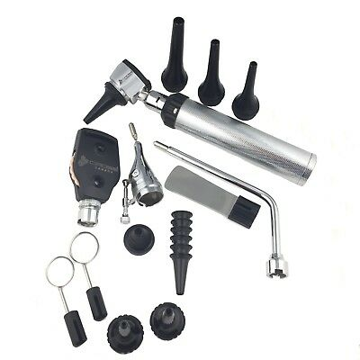 Vet.ENT Ophthalmoscope & Otoscope Diagnostic Set, with 12 different instruments