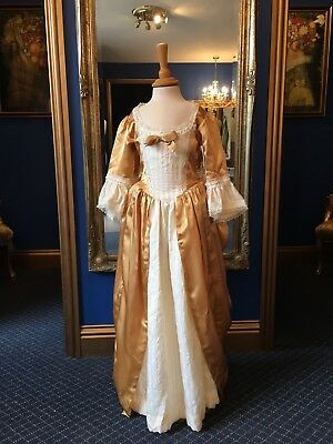 Gorgeous Theatrical Style Girls 18th Century Court Dress, Really Beautiful Item!