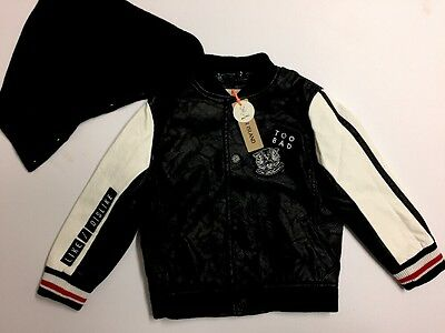Baby Boys BNWT Hooded Bomber Jacket Mini RIVER ISLAND Age 18-24 Months
