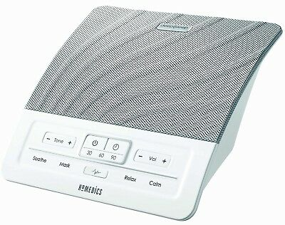 HoMedics HDS-1000 Deep Sleep Therapy White Noise Machine Soothe Mask Relax Calm