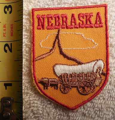 Nebraska Patch (State, Covered Wagon)