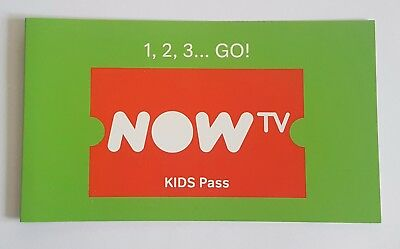 NOW TV 3 Month Kids Pass