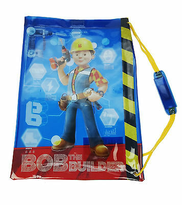 Bob The Builder Swimming Bag Boys School Swim Bag