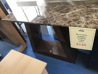 Marble Console Table Bargain Here
