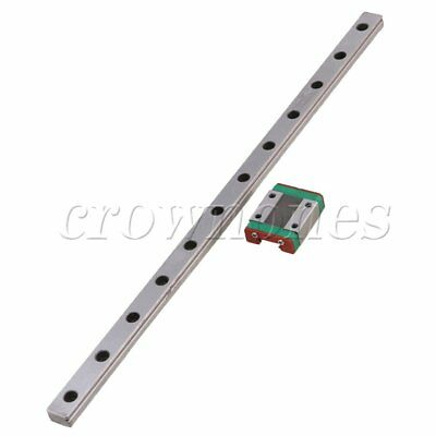 MGN12 Linear Rail Guide Slide 30cm Length With Linear Extension Block