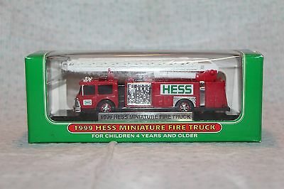 1999 Hess Miniature Fire Truck – Never Opened