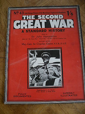The Second Great War #43 Fully Documented & Illustrated Field Marshal Smuts