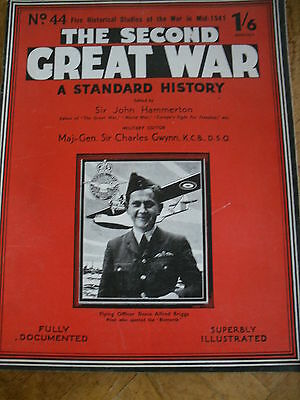 The Second Great War #44 Fully Documented & Illustrated D A Briggs Pilot Bismark