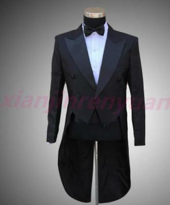 Mens Tail Tuxedo Trouse Party Wedding Business Formal Jackets Coats SUIT&PANTS