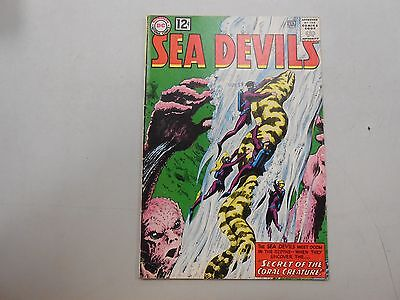 Sea Devils #9! (February 1963, DC)! FN6.0+! Silver age DC beauty! LOOK!