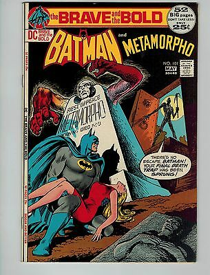The Brave and the Bold #101 (Apr-May 1972, DC)! VF8.0+! Bronze age DC beauty!