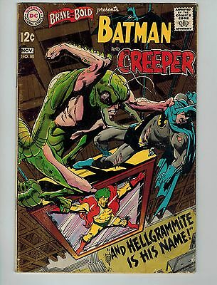 The Brave and the Bold #80 (Oct-Nov 1968, DC)! VG/FN5.0+! Silver age DC beauty!