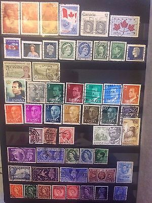 Old Stamps Queen & King