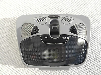 2001 Mercedes-Benz C320 roof dome/map light & sunroof switch with OE smoked lens