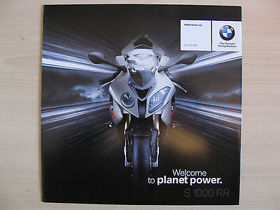 BMW S1000RR UK Sales Brochure (2009)