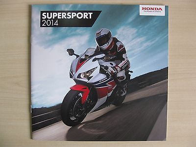 Honda Super Sports UK Sales Brochure (2014), Inc Fireblade