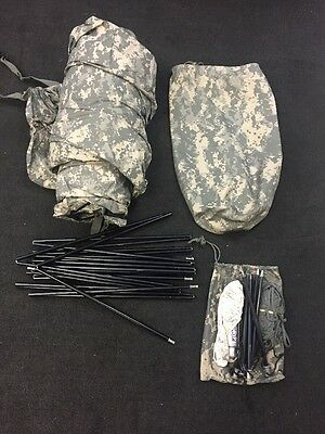 ORC INDUSTRIES Improved Combat Tent Digital Camo w/Rainfly & Carry Bag See Desc.