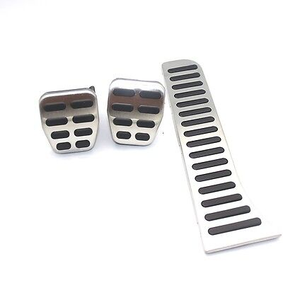 VW Caddy TDI SDI Maxi Accelerator Stainless Steel Pedal Cover Set