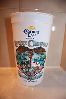 Kenny Chesney Spread The Love Tour 2016 Corona Light 32 Oz Concert Cup